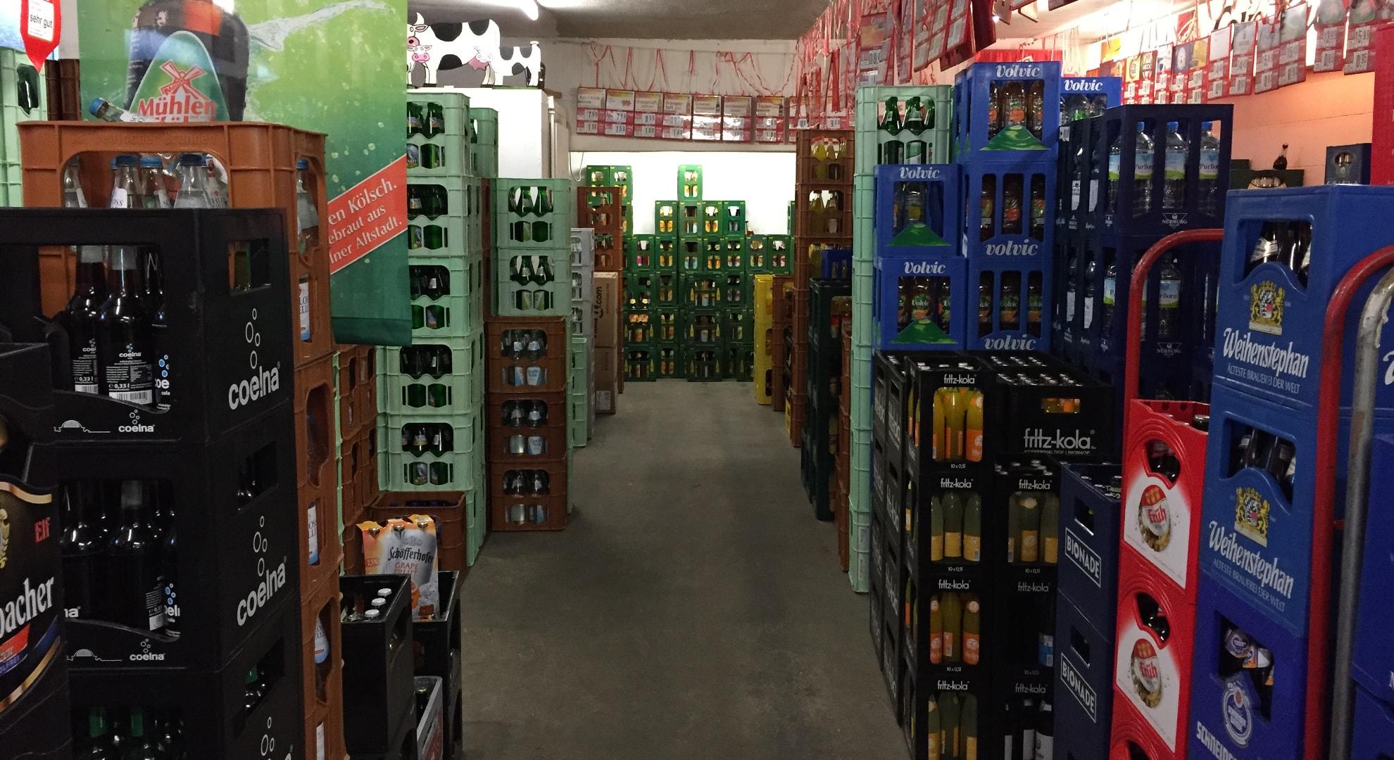 Getränke bringen lassen in Köln